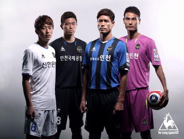 인천 UTD 2014 시즌 유니폼