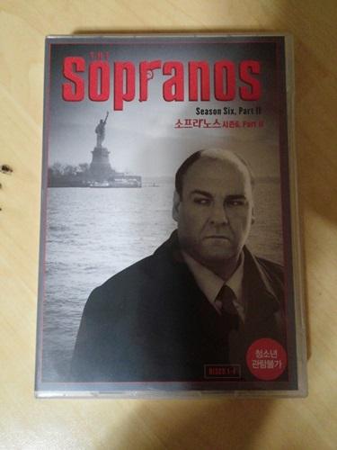 """""""소프라노스"""" 시즌6 파트2 DVD를 드디어 질렀습니다."""