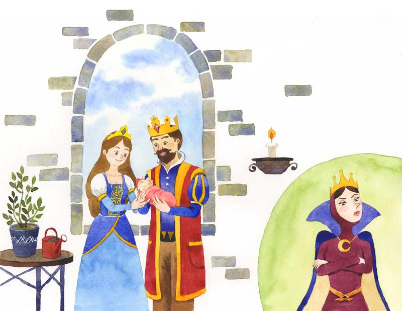 백설공주 (Snow white)_ 세상에 하나뿐인 동화책