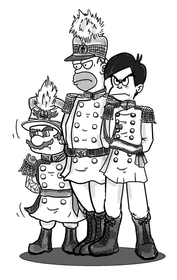 [가상역사] 대한제국의 세 장군이자... 마독교의..