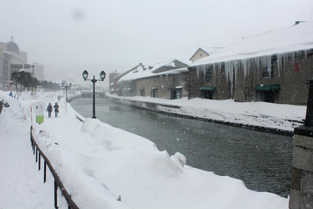오타루 - 홋카이도는 오늘도 눈이 내린다죠
