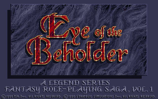 [DOS] 주시자의 눈 (Eye Of The Beholder.19..