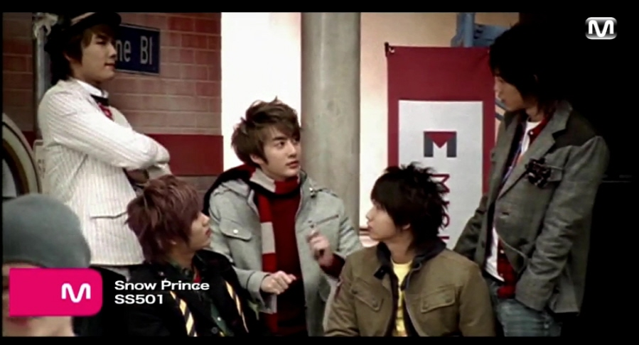 [MV]SS501 - Snow Prince M/V & 캡쳐 & 과..
