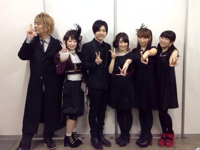 'AnimeJapan2014'의 블랙 불릿 스테이지 이벤트 기..