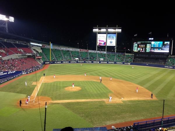 2014 홈 개막전 vs SK 패