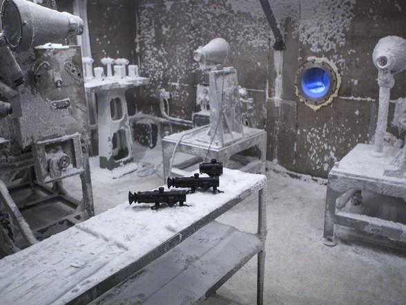 슈와베 그룹이 만들어 놓은 조준경 테스트.Frozen!