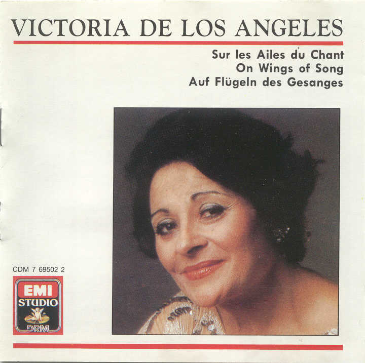 Victoria de Los Angeles; Recital with Orches..