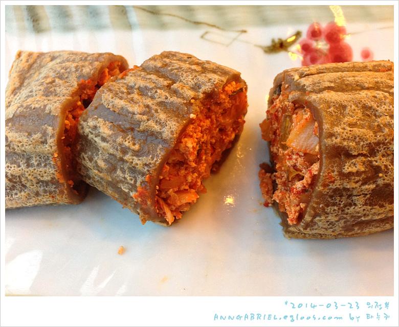 [의정부] 찰진 도토리전병과 온묵밥, 묵앤막국수