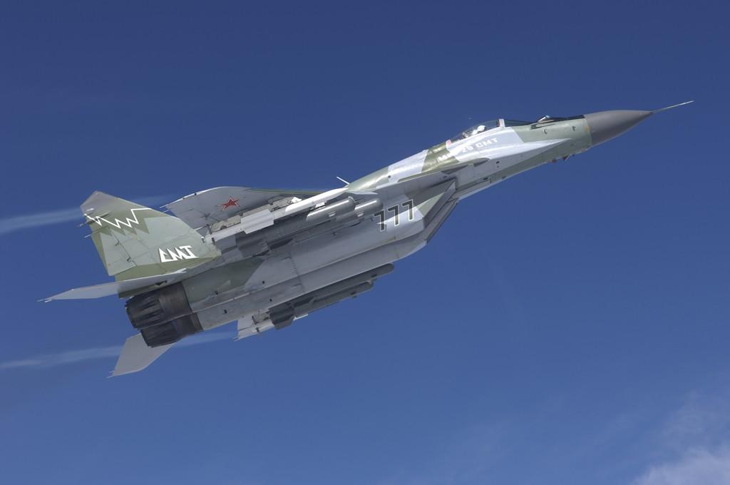 신형 MiG-29 전투기를 발주한 러시아 국방부