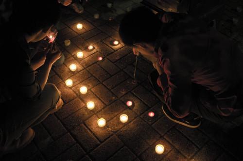 세월호 희생자를 위한 촛불기도회 @George Maso..