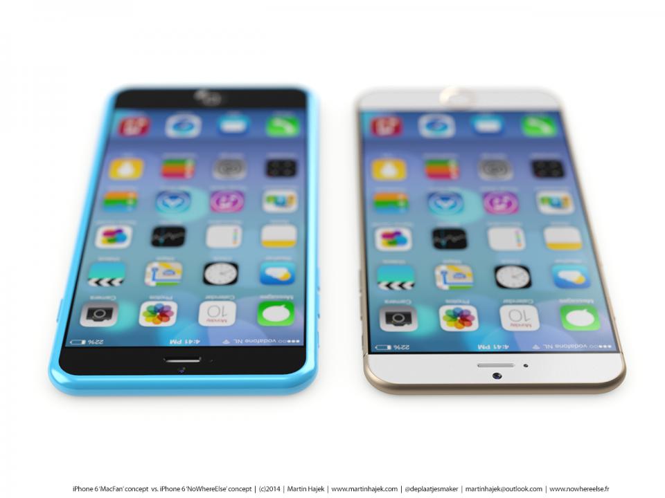 아이폰 6 예상 디자인은 계속 나옵니다.