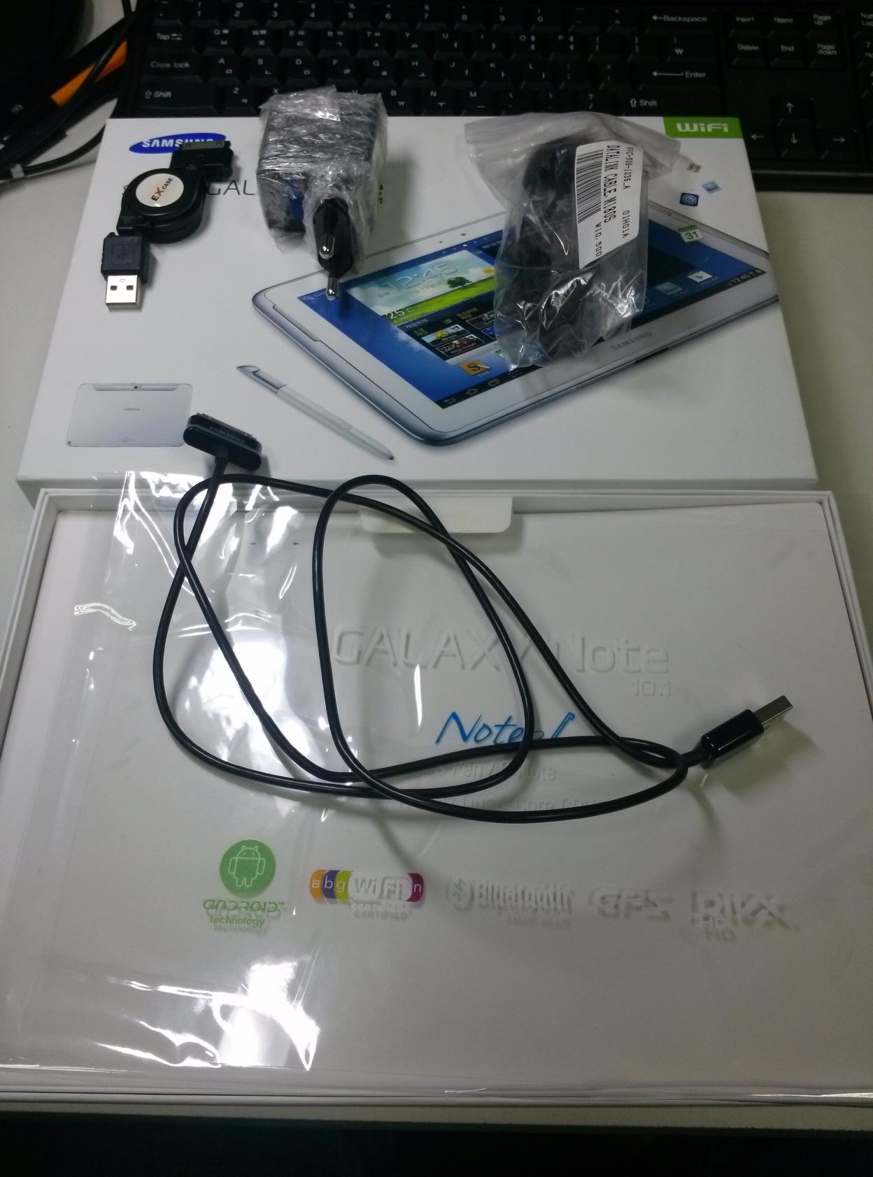 [판매완료][가격인하] 갤럭시 노트 10.1, 2012년형..