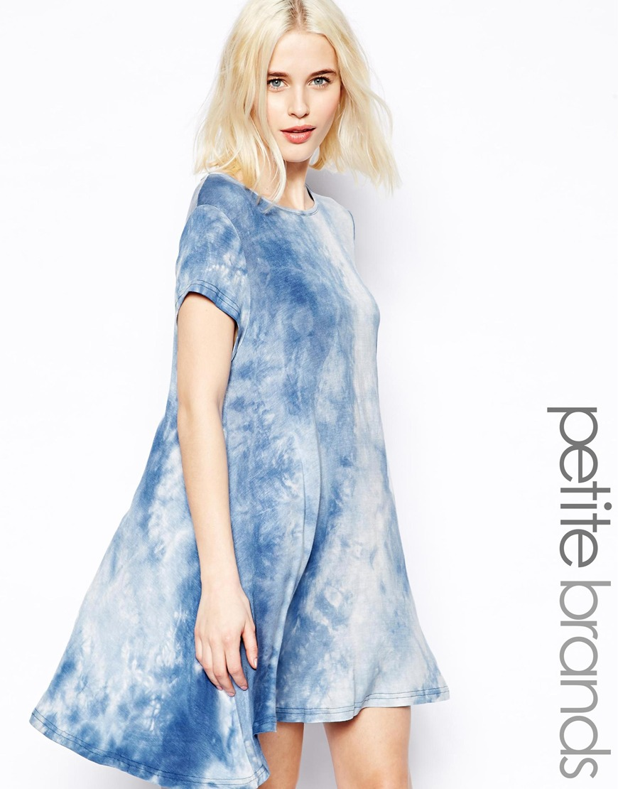 여성복(Glamorous Petite Tie Dye Swing Dress)