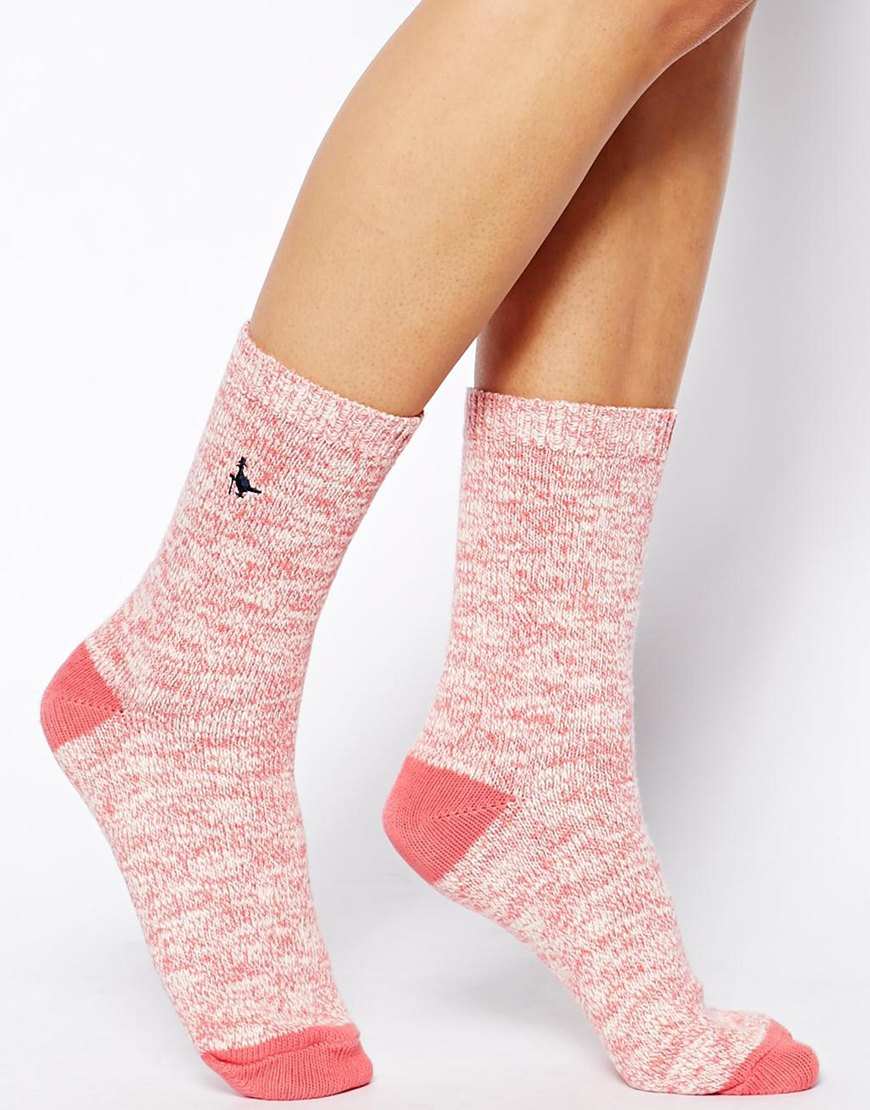 여성의류(Jack Wills Two Pack Ankle Socks)