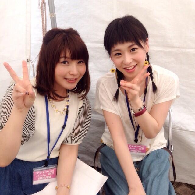 성우 닛타 에미 & 토쿠이 소라의 사진이로군요.
