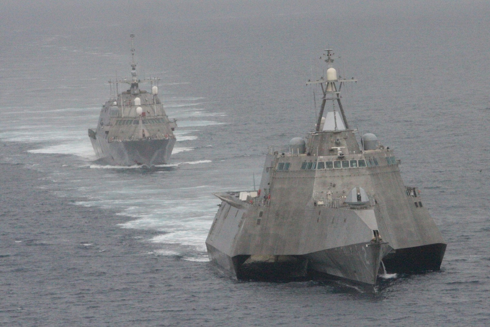 RIMPAC 훈련에 불참하는 미 해군의 연안전투함