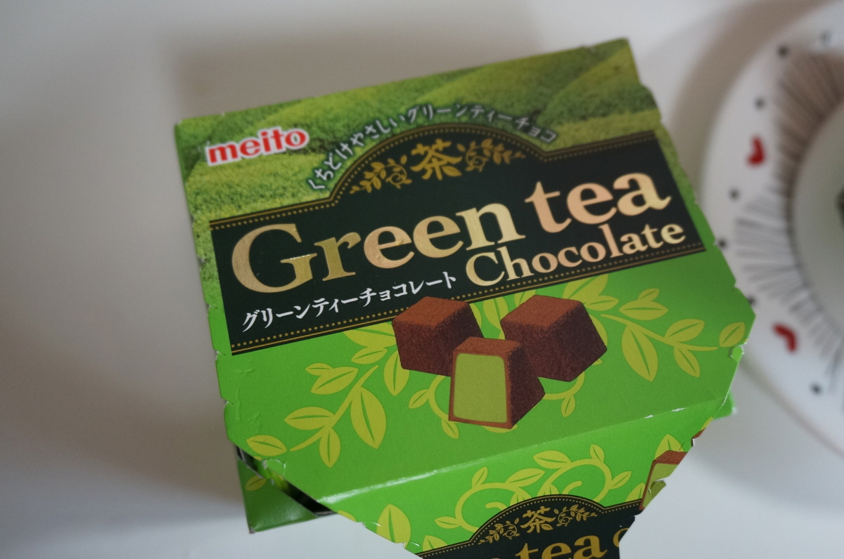 일본 메이토 녹차초콜릿 Meito Green tea Chocol..