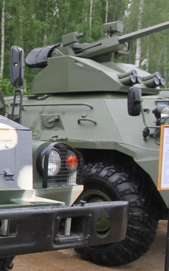 BTR-82A1의 포탑은..