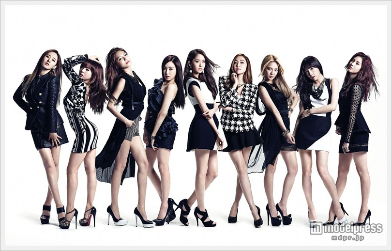 소녀시대, 성인의 섹시한 미각을 전개. 신작의 ..