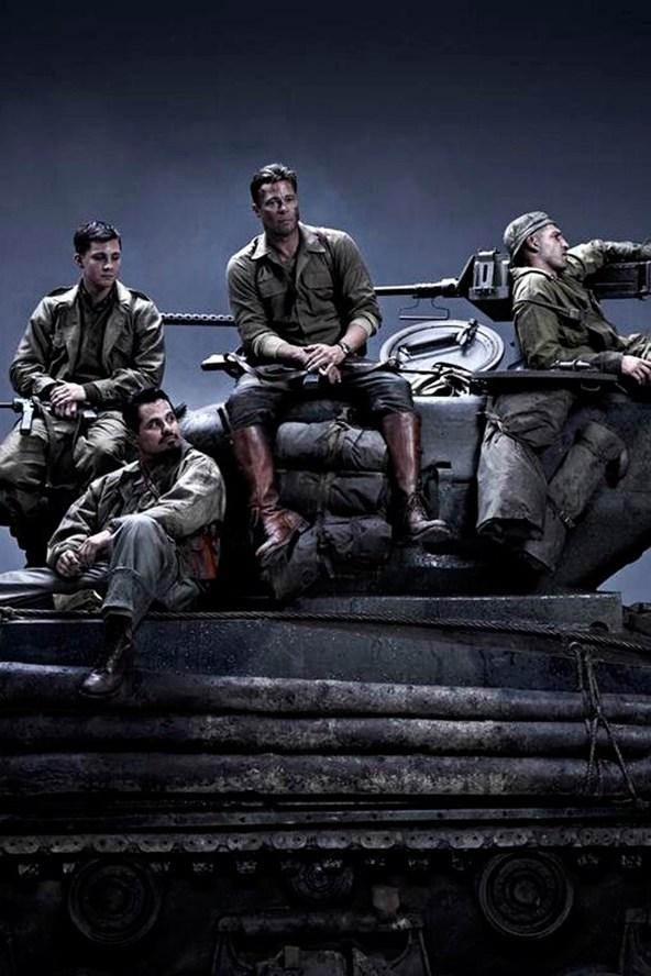 """브래드 피트 + 데이빗 에이어, """"Fury"""" 영상입니다."""