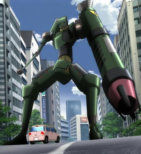 《건전로봇 다이미다라》제11화에서 등장한 로봇 정리