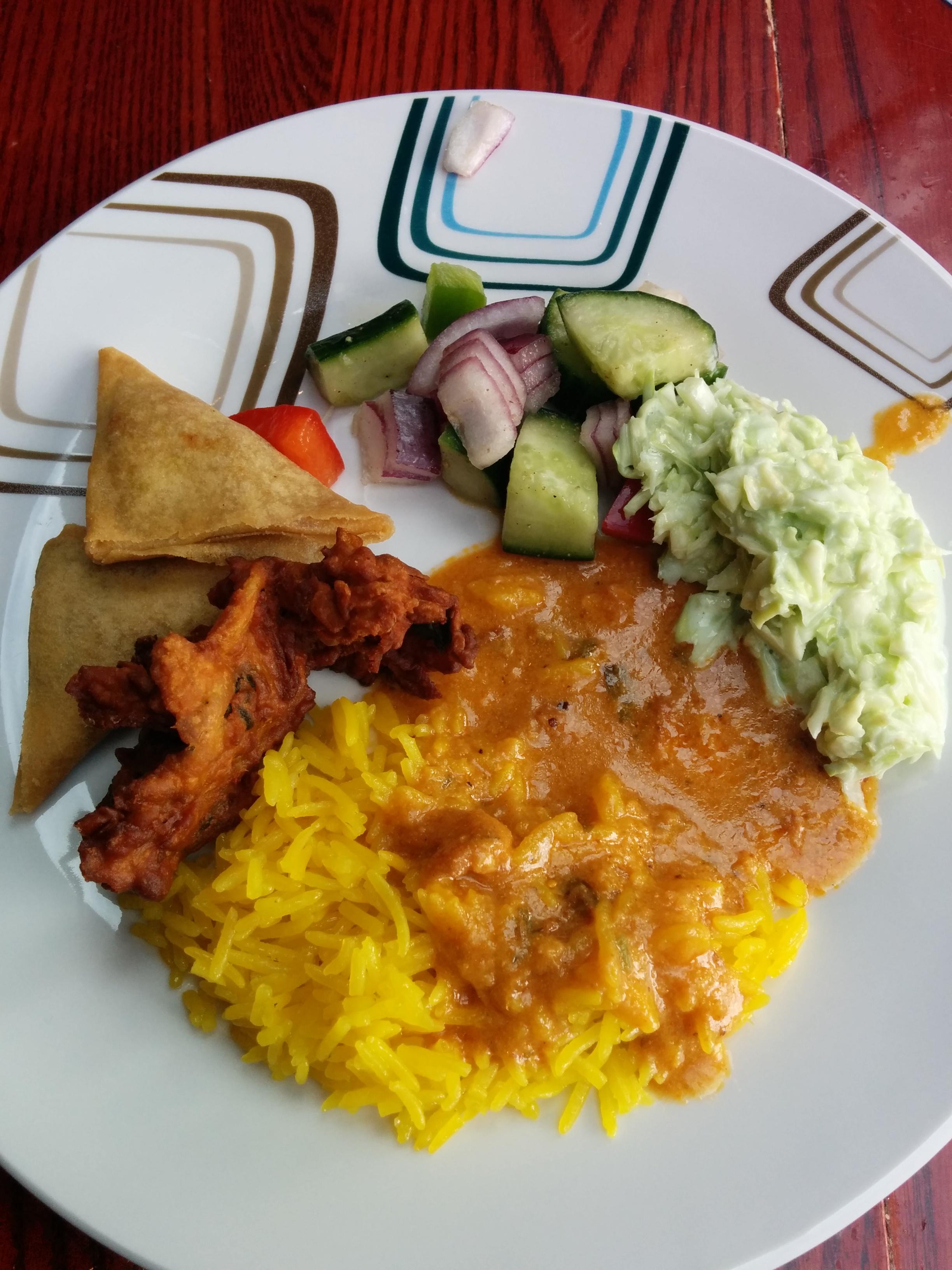 오늘은 인도음식부페!
