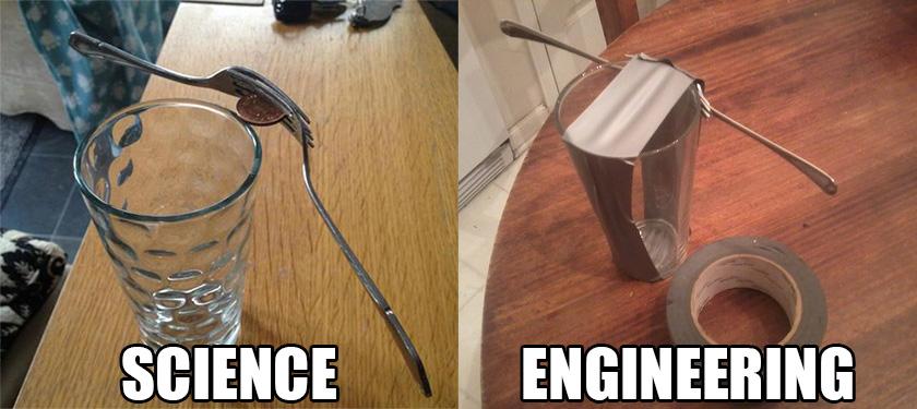 과학자와 엔지니어의 차이를 표현한 그림이 화제