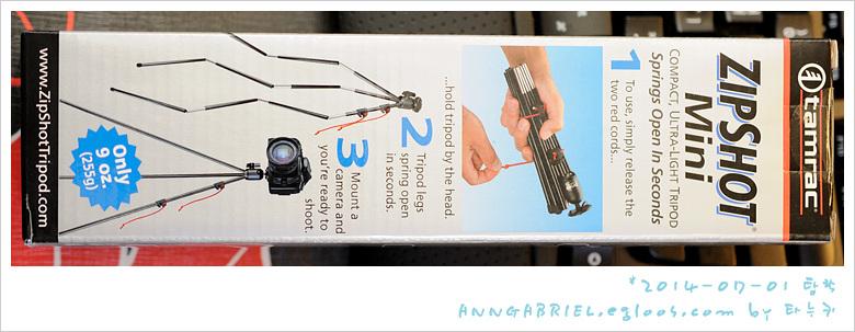 [Tamrac] 가벼운 원터치 삼각대, Zipshot mini