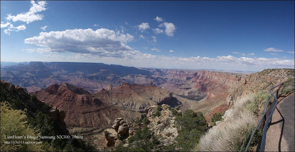 그랜드 케니언 (Grand Canyon) - 숙박, 석양..