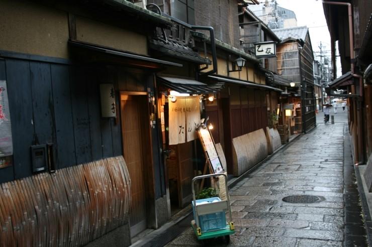 20140520 교토를 가다(2) - 비오는 날은 오코노미야끼..