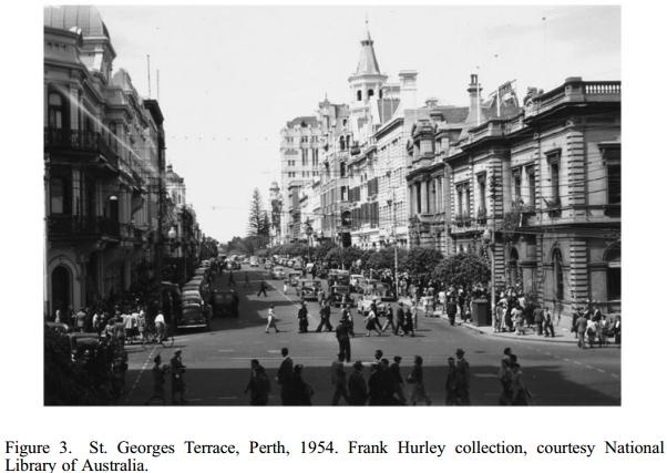 호주도시 Perth에 대한 논문과 2014년 서울의 모습