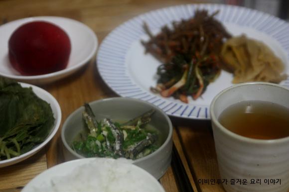자취녀의 계절밥상(여름)-고추장물, 여름 밥도둑