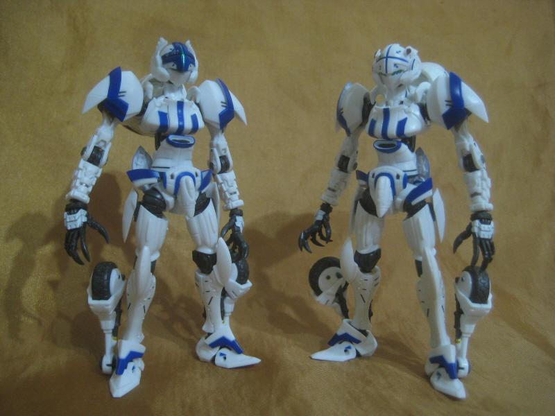 로봇혼 - 알렉산더 Type-02 레이라 기 & 아야노 ..