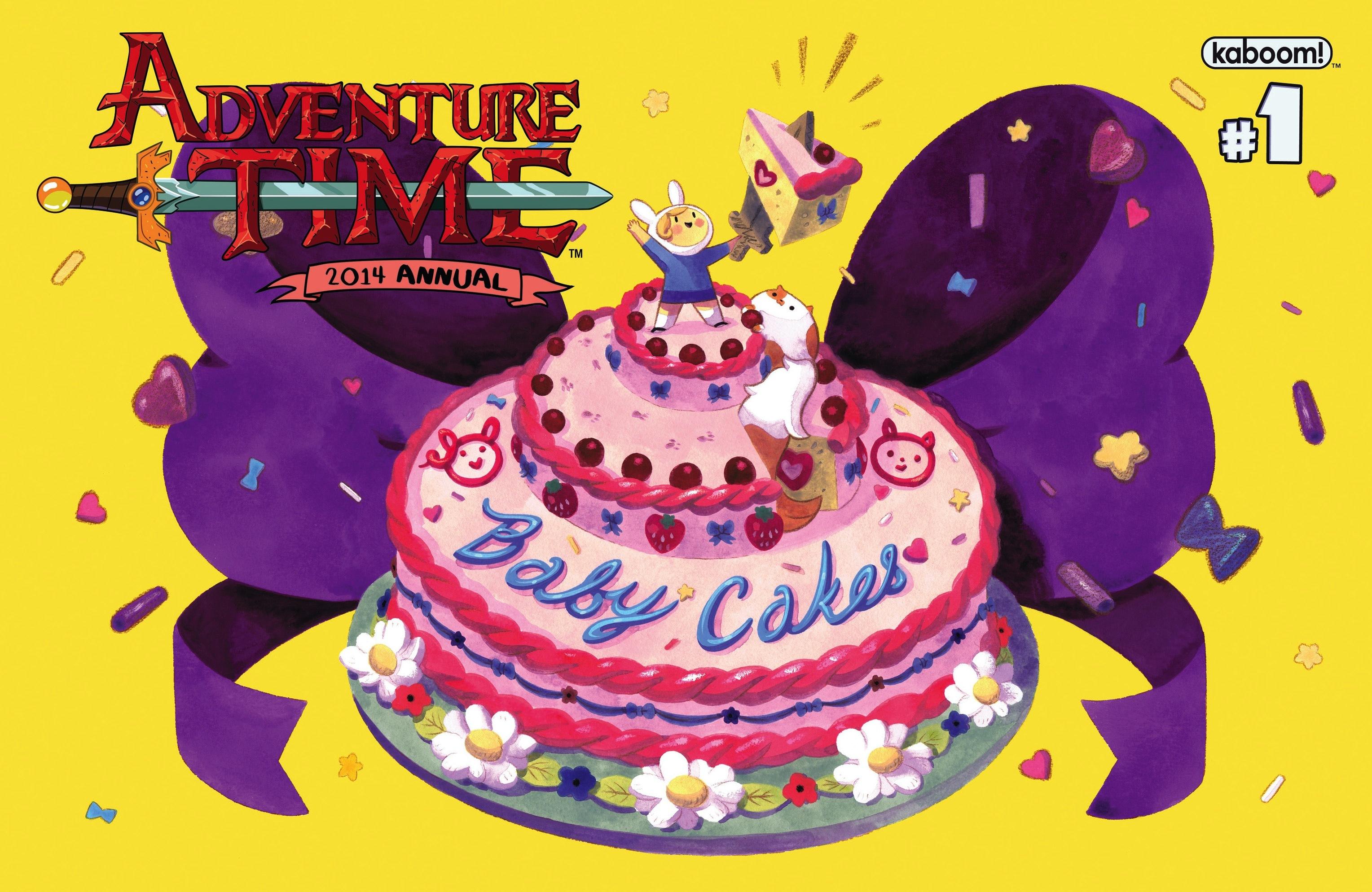 어드벤쳐 타임 코믹스 : 2014 애뉴얼 Part.1