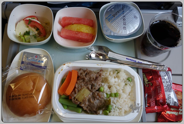 그저 그런 2014년 8월 대한항공 타이페이 서울 이코노..
