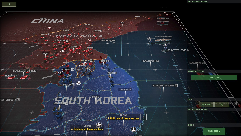 (스압) 워게임: 레드 드래곤- 제2차 한국전쟁 진..