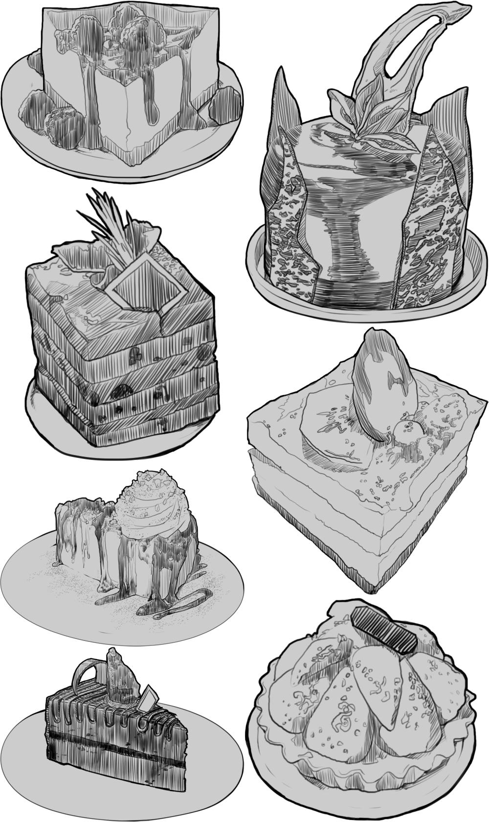[iff] 케이크