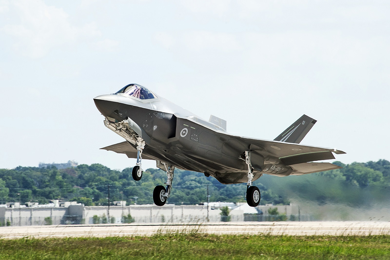 호주공군용  F-35A Lightning II 1호기 첫비행