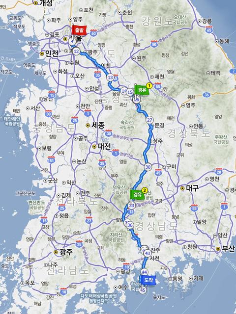 국도 여행; 남해 (3南-19南)