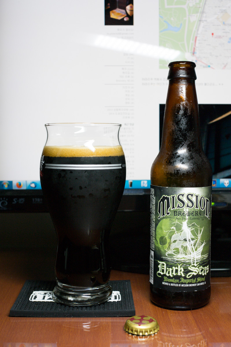 Mission Dark Seas Imperial Stout