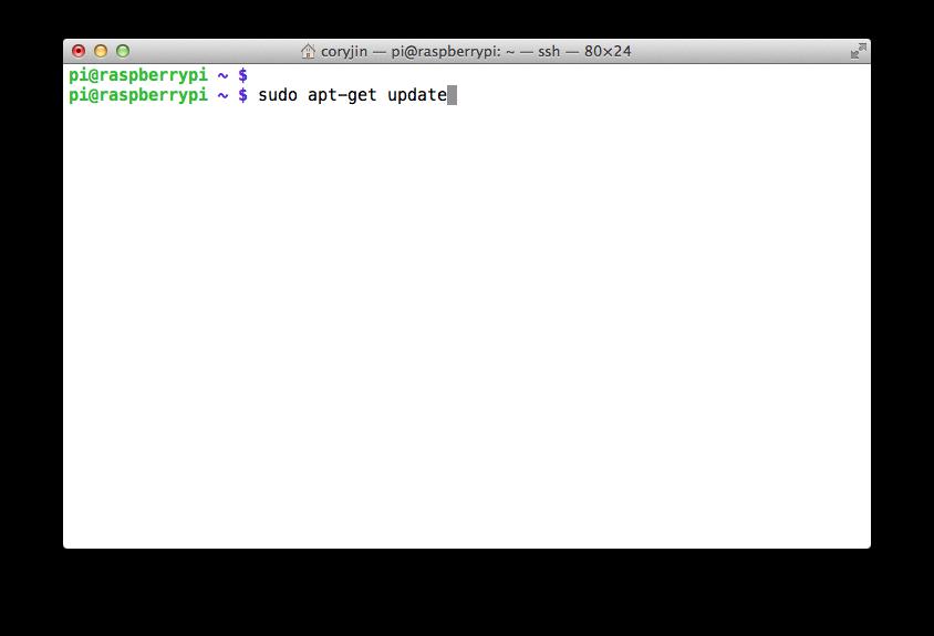2.4. 라즈베리 파이 Raspbian OS 업데이트하기 /..