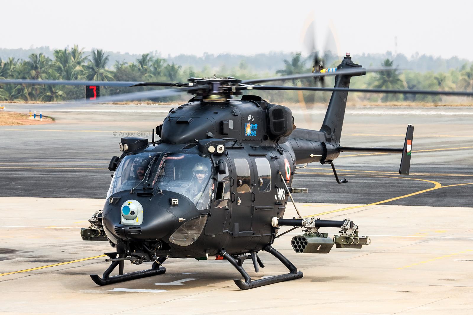 인도 자체 개발 HAL Rudra 경무장 공격헬기