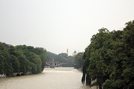 뮌헨의 젖줄 이자르(Isar) 강