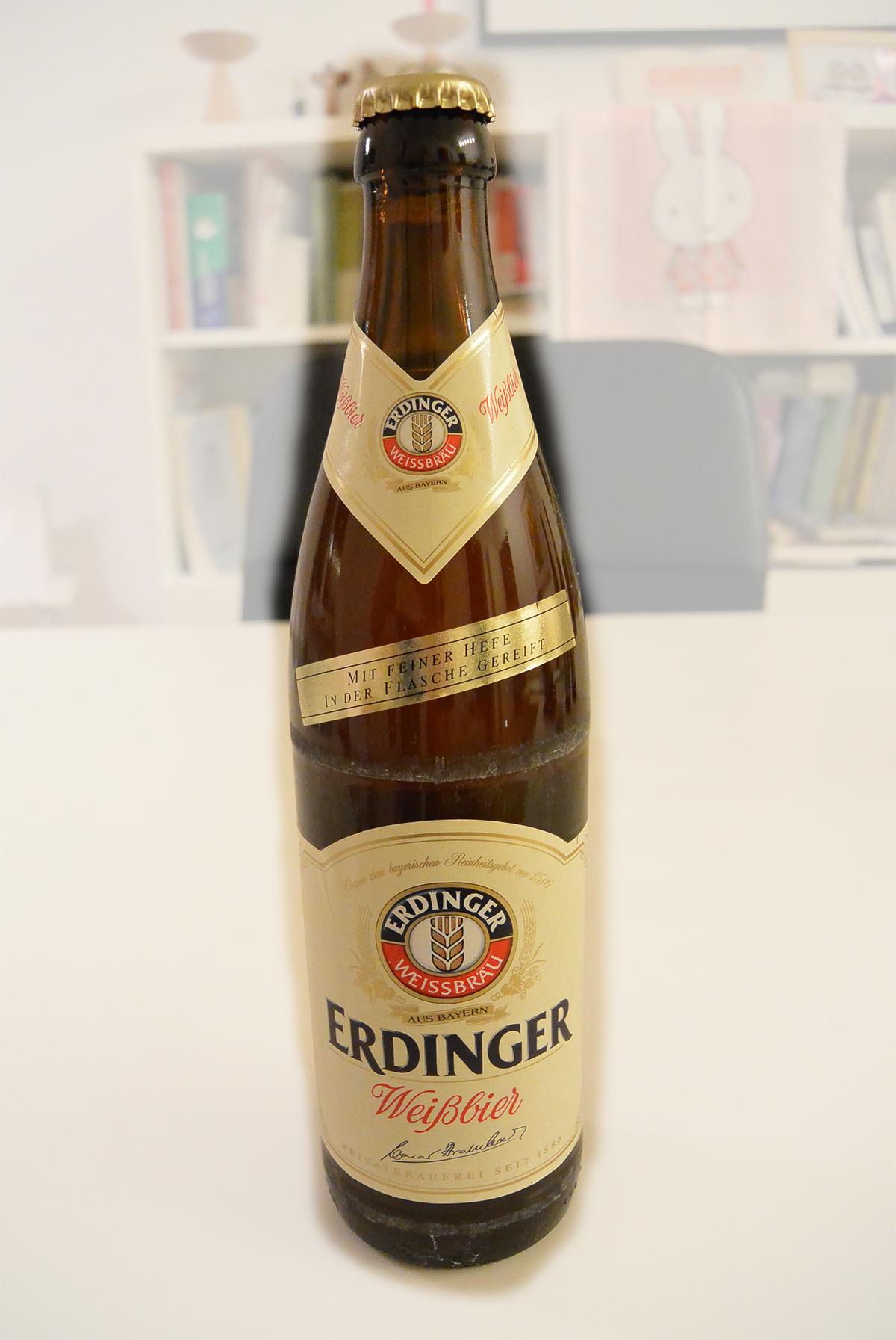 맛있는 독일맥주 시리즈 (3)- Erdinger Weißbier