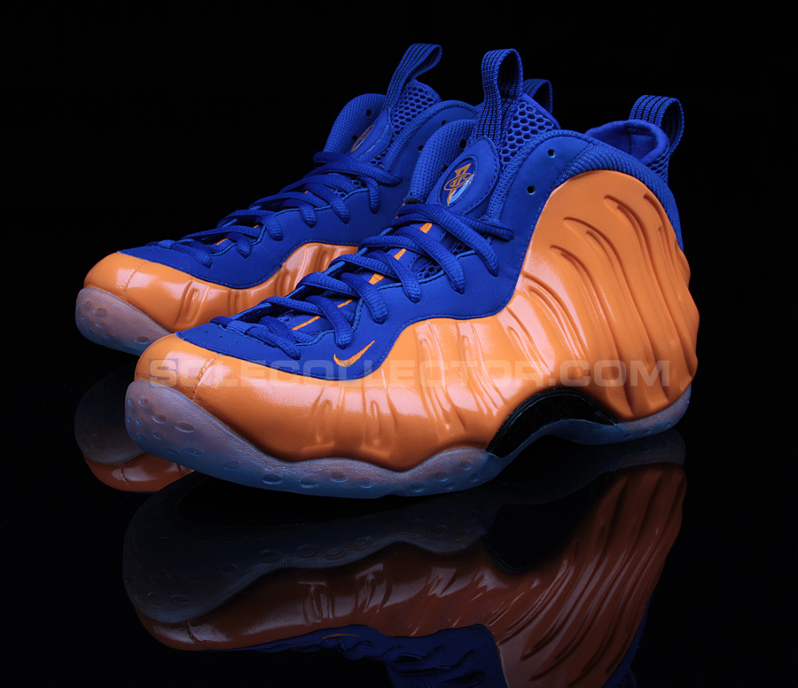 "Air Foamposite One ""Knicks"""