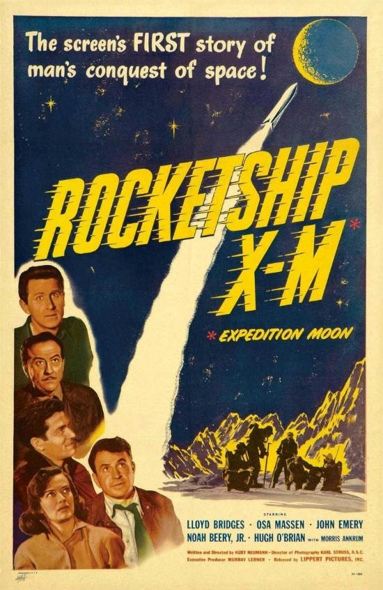 로켓쉽 X-M / Rocketship X-M (1950년)