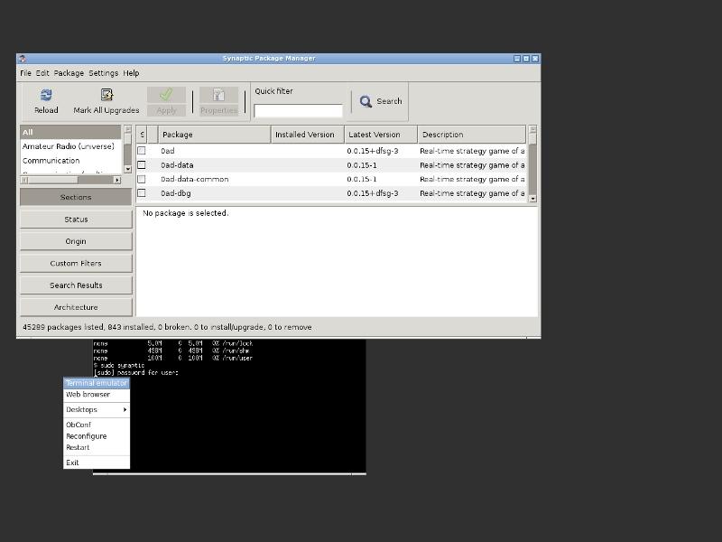 우분투 서버에서 최소한의 GUI 환경 구성(OpenB..