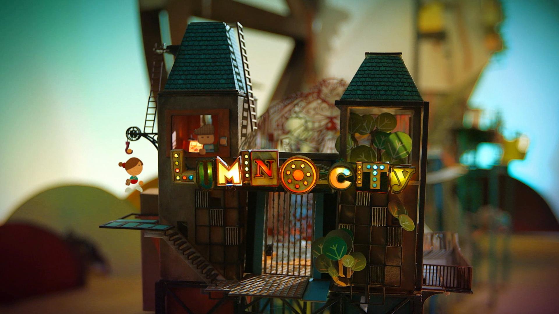종이로 만든 게임, Lumino City!