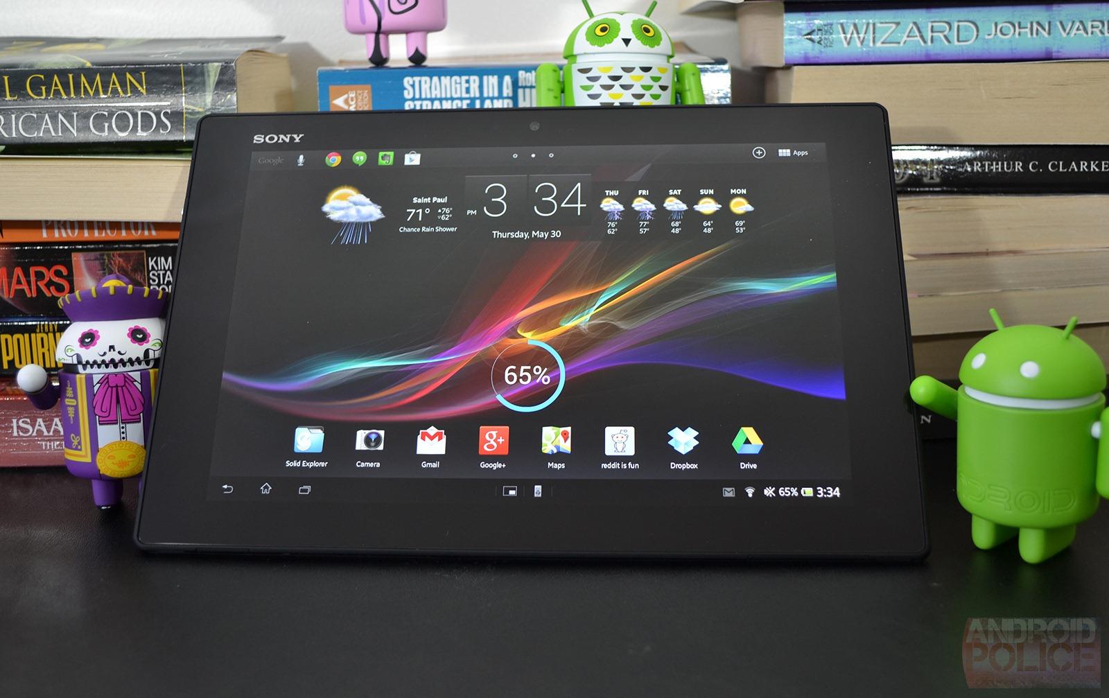 세계 최초로 4기가 램을 탑재하게 될 태블릿 소니 Z4..