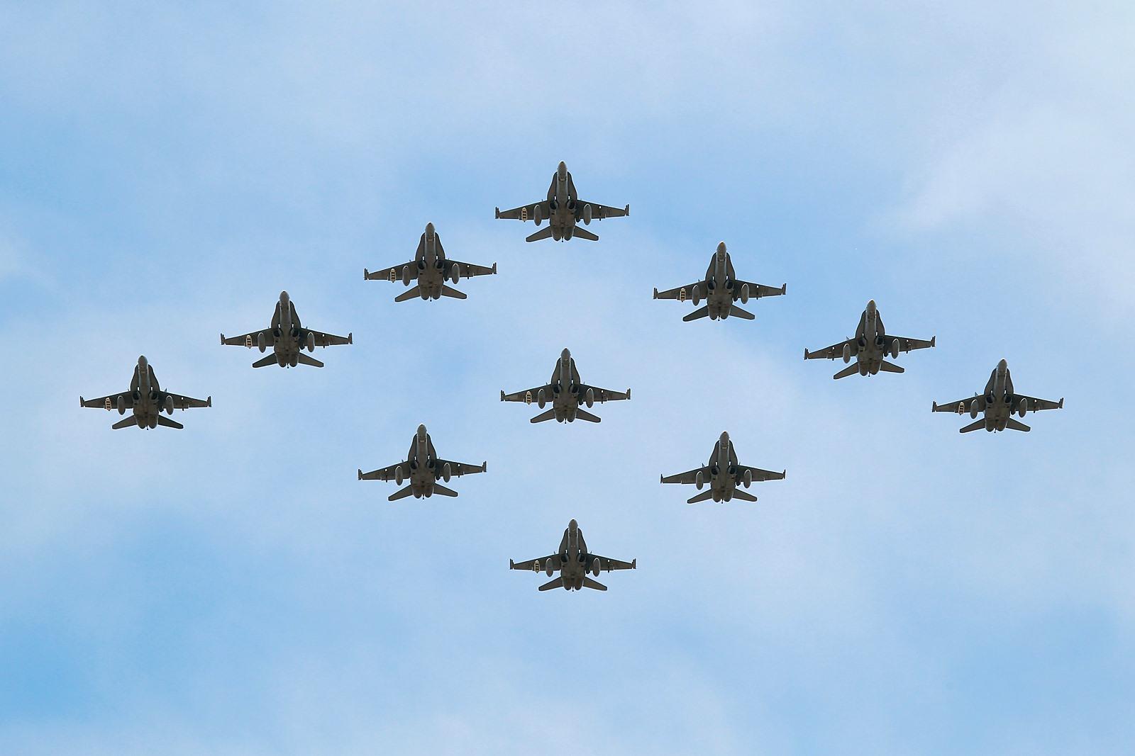 호주공군 신입조종사 귀대기념 F/A-18A/B 전투기 11..